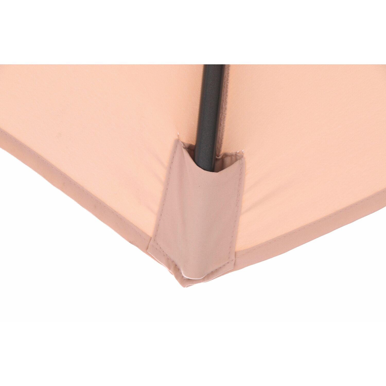 obi sonnenschirm honolulu rund beige 400 cm kaufen bei obi. Black Bedroom Furniture Sets. Home Design Ideas