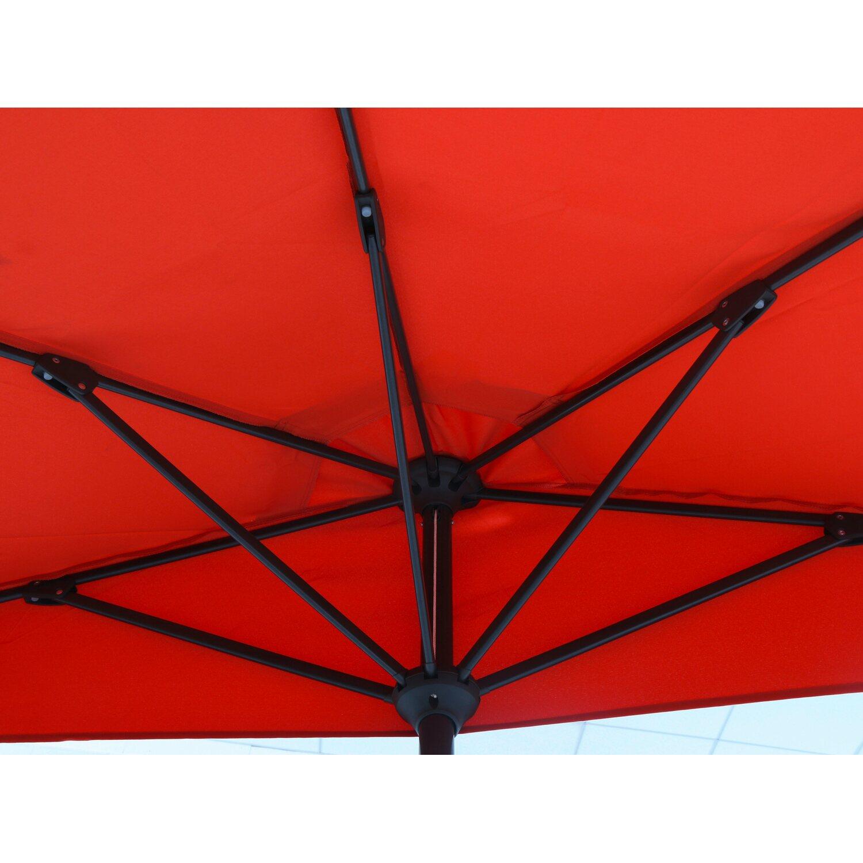 obi balkonschirm dolega halbrund terracotta 270 cm x 135 cm kaufen bei obi. Black Bedroom Furniture Sets. Home Design Ideas