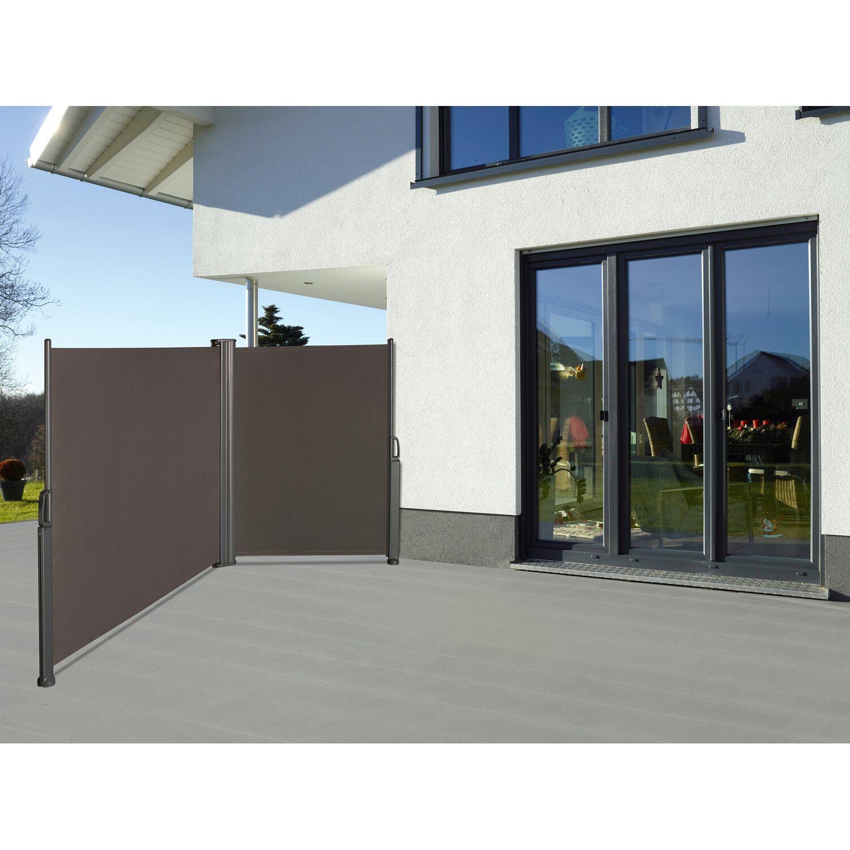 obi vertikalmarkise cordoba 2 seitig je 300 cm x 150 cm anthrazit kaufen bei obi. Black Bedroom Furniture Sets. Home Design Ideas