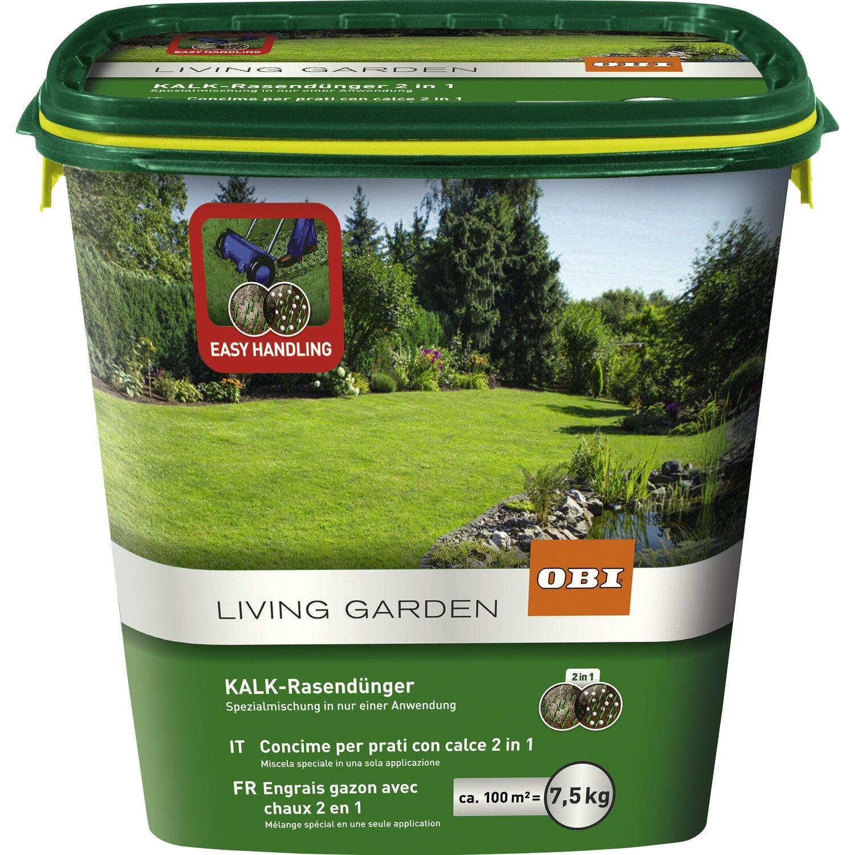 Obi Kalk Rasendunger 7 5 Kg Kaufen Bei Obi