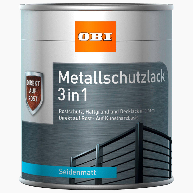 obi metallschutzlack 3in1 gr n seidenmatt 750 ml kaufen bei obi