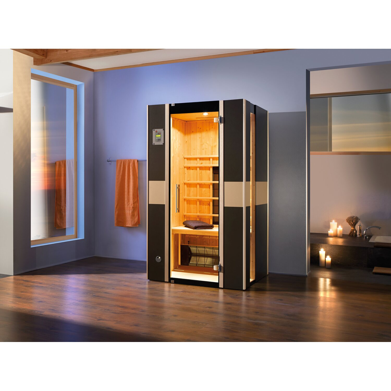 weka infrarotkabine 543 graphit gr 1 kaufen bei obi. Black Bedroom Furniture Sets. Home Design Ideas