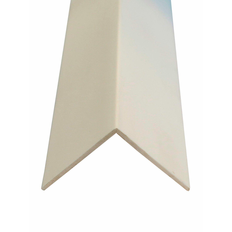 Winkelleiste Kunststoff Weiss 30 Mm X 30 Mm Lange 2 500 Mm Kaufen Bei Obi