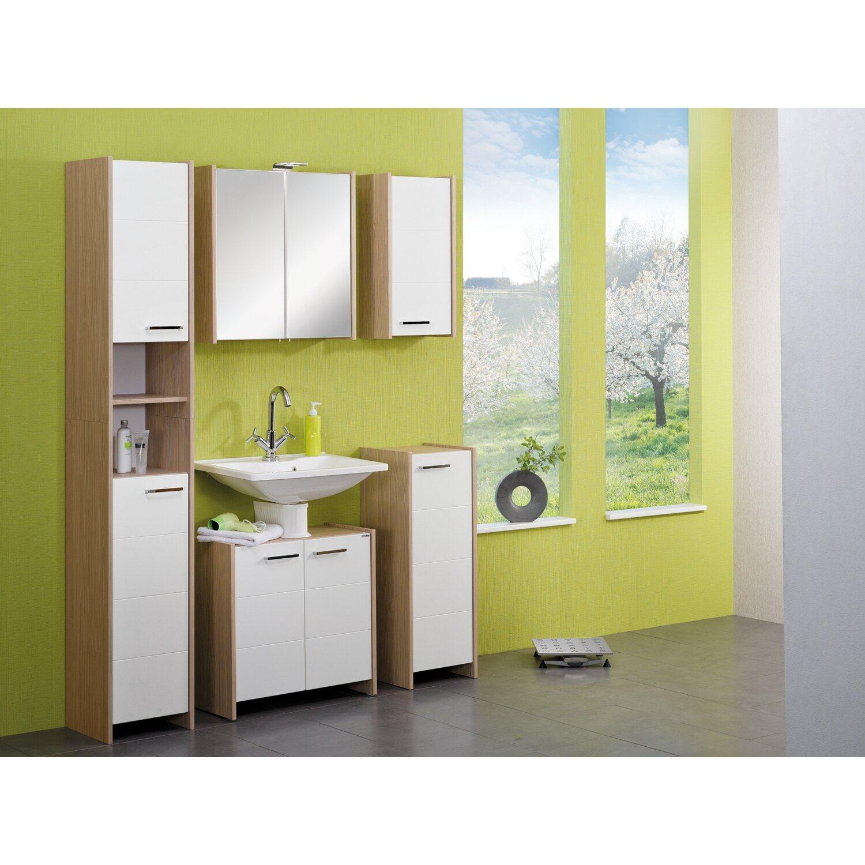 fackelmann waschbeckenunterschrank kayo pinie weiss kaufen bei obi. Black Bedroom Furniture Sets. Home Design Ideas