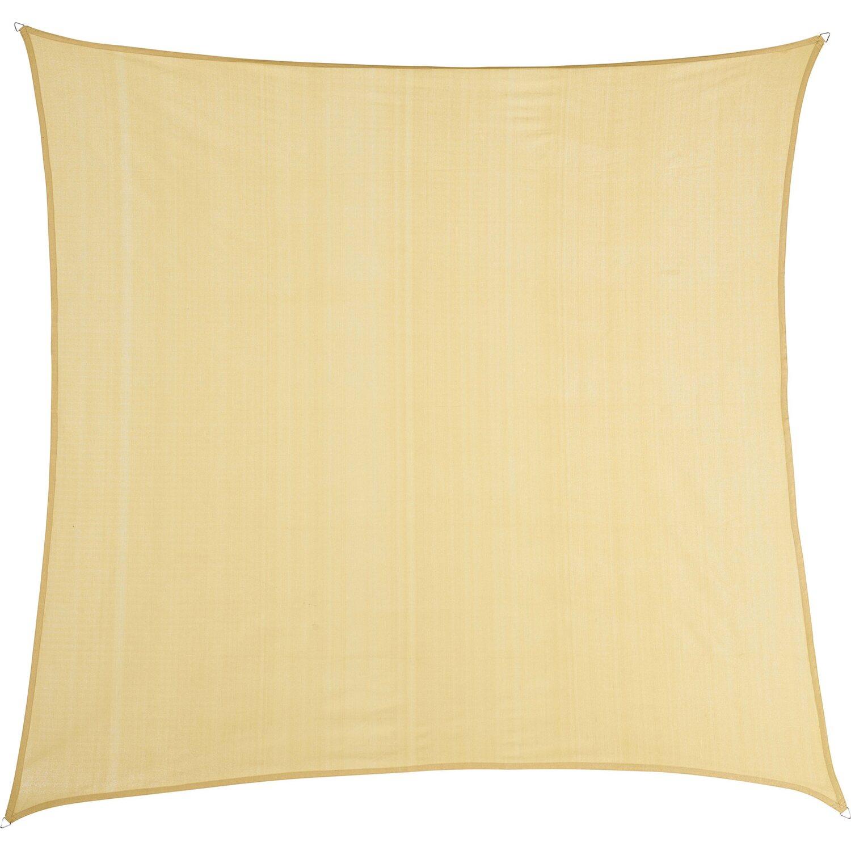 neue Produkte für am besten einkaufen billig zu verkaufen OBI Sonnensegel Sun City Quadrat HDPE 360 cm x 360 cm Beige ...