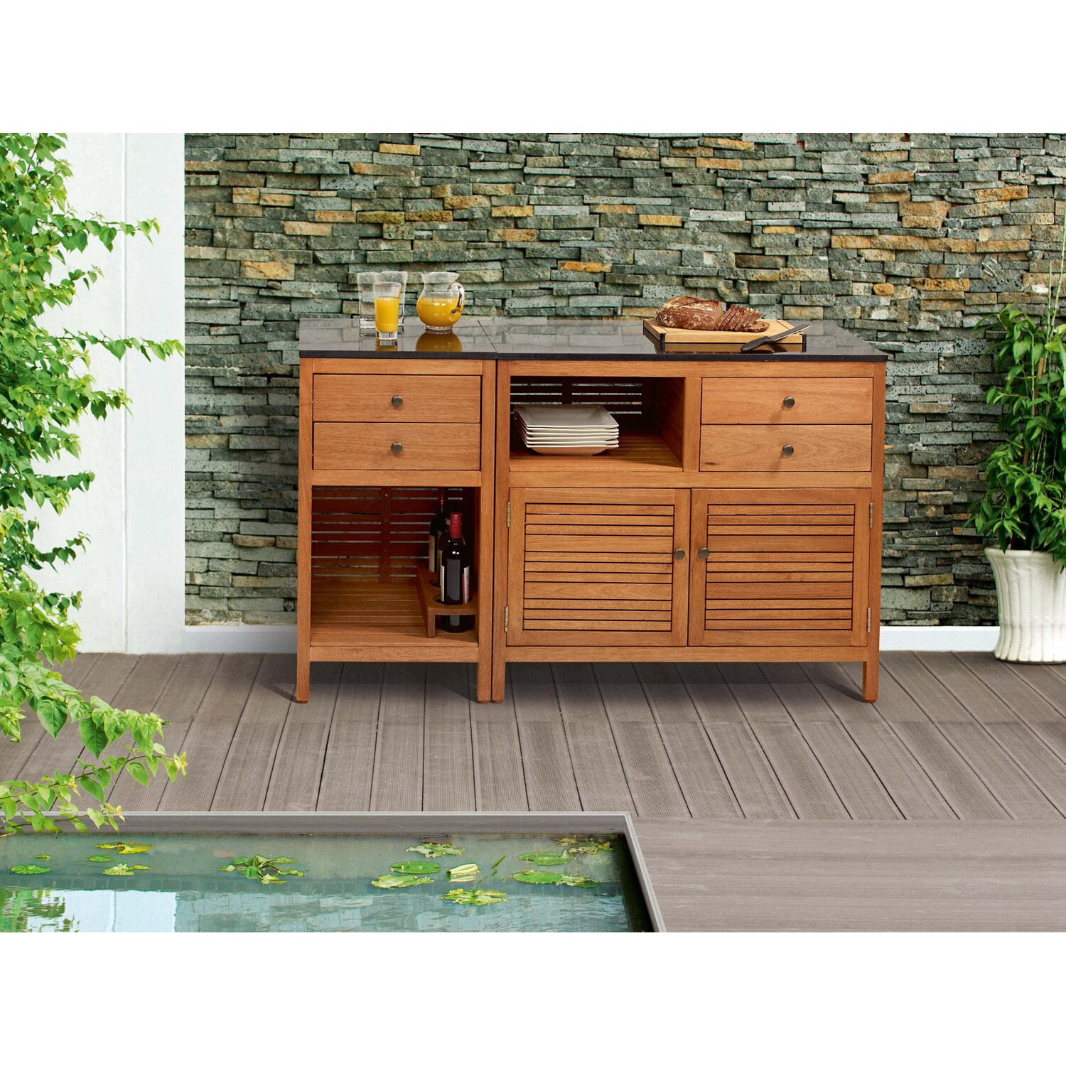 obi outdoor schrank chelsea 50 cm x 50 cm kaufen bei obi. Black Bedroom Furniture Sets. Home Design Ideas
