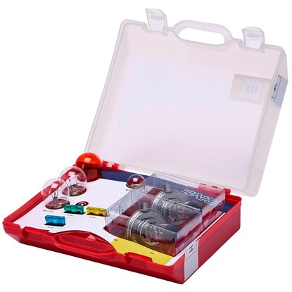 Lampenbox H4 10-teiliges Set