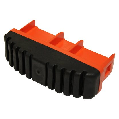 Krause Fussstopfen Orange 97 mm x 25 mm