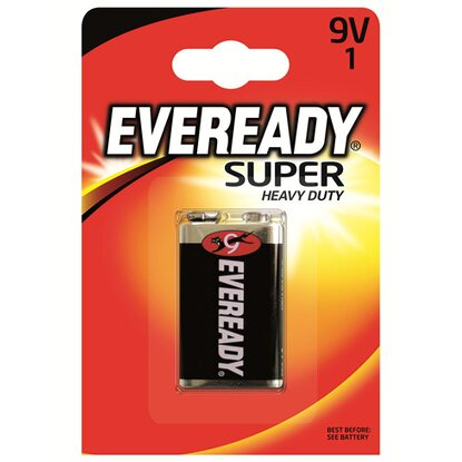 Energizer Eveready Super Heavy Duty 9 V E-Block 1er-Blister