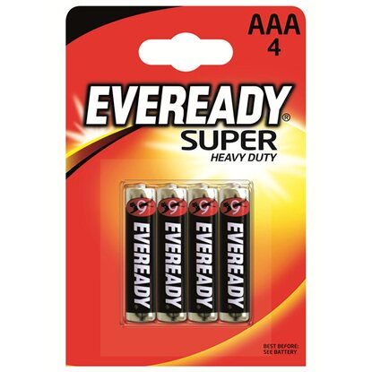 Energizer Eveready Super Heavy Duty Micro AAA 4er-Blister