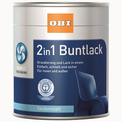 OBI 2in1 Buntlack Terracotta seidenmatt 750 ml