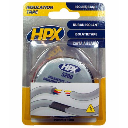 HPX PVC Isolierband-Rolle 19 mm x 10 m