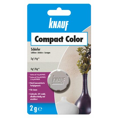 Knauf Compact Color Schiefer 2 g