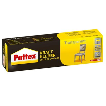 Pattex Kraftkleber Transparent 125 g