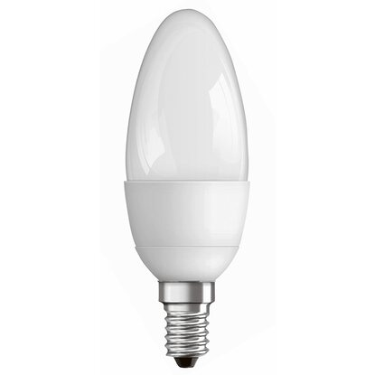 LED-Lampe EEK: A+ Kerzenform E14 / 6,5 W (470 lm) Warmweiss