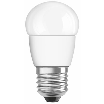 Osram LED-Lampe EEK: A+ Tropfenform E27 / 6 W (470 lm) Warmweiss Matt