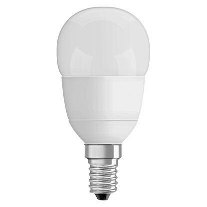 Osram LED-Lampe EEK: A+ Tropfenform E14 / 6 W (470 lm) Warmweiss Matt dimmbar