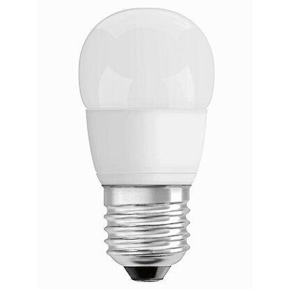 Osram LED-Lampe EEK: A+ Tropfenform E27 / 6 W (470 lm) Warmweiss Matt dimmbar