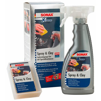 Sonax Xtreme Spray + Clay im Set