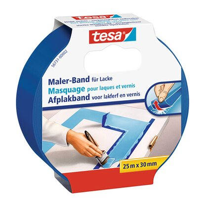 Tesa Maler-Band Blau 25 m x 30 mm