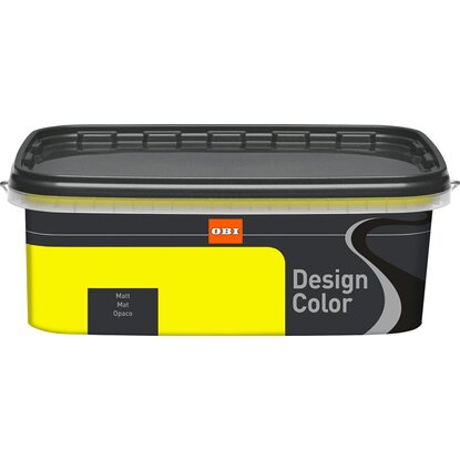 OBI Design Color Citron matt 2,5 l