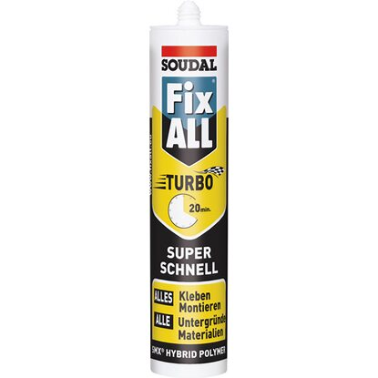 Soudal Fix All Turbo Weiss 430 g