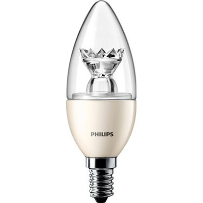 Philips LED-Lampe EEK: A+ Kerzenform E14 / 3 W (250 lm) Warmweiss