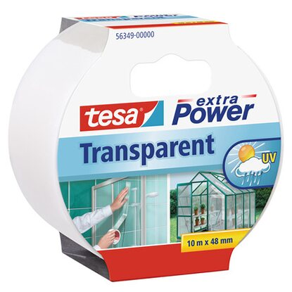 tesa Extra Power Transparent 10 m x 48 mm