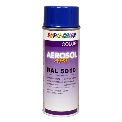 Dupli-Color Lackspray Aerosol-Art RAL 5010 Enzianblau 400 ml