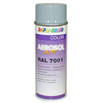 Dupli-Color Lackspray Aerosol-Art RAL 7001 Silbergrau 400 ml