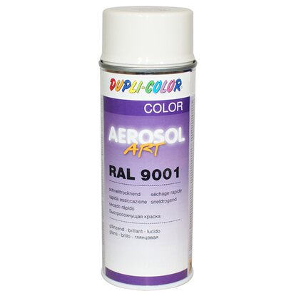 Dupli-Color Lackspray Aerosol-Art RAL 9001 Cremeweiss 400 ml