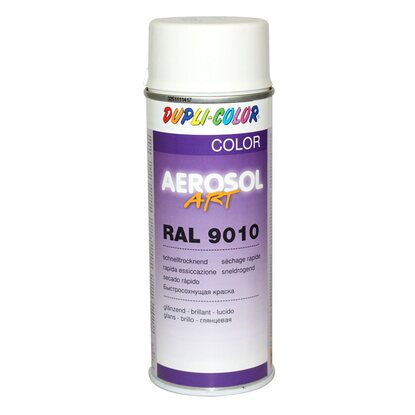 Dupli-Color Lackspray Aerosol-Art RAL 9010 Reinweiss 400 ml