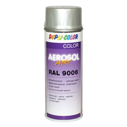 Dupli-Color Lackspray Aerosol-Art RAL 9006 Weissaluminium 400 ml