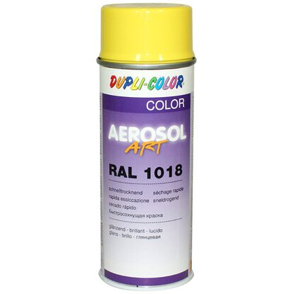 Dupli-Color Lackspray Aerosol-Art RAL 1018 Zinkgelb 400 ml