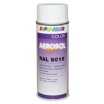 Dupli-Color Lackspray Aerosol-Art RAL 9016 Verkehrsweiss 400 ml