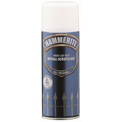 hammerite metall schutzlack spray schwarz matt 400 ml. Black Bedroom Furniture Sets. Home Design Ideas