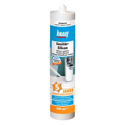 Knauf Sanitär-Silikon Transparent Plus 300 ml