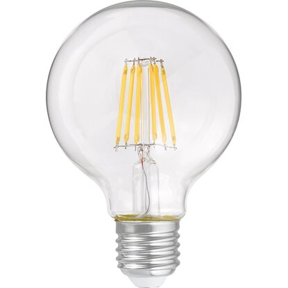 OBI LED-Filament-Leuchtmittel EEK: A++ Globeform E27 / 6 W (806 lm) Warmweiss