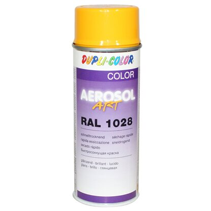 Dupli-Color Lackspray Aerosol-Art RAL 1028 Melonengelb  400 ml
