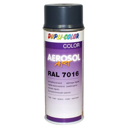Dupli-Color Lackspray Aerosol-Art RAL 7016 Anthrazitgrau matt 400 ml