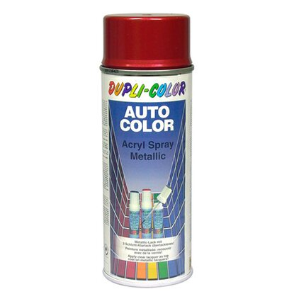 Dupli-Color Lackspray Autocolor Rot 5-0400 400 ml