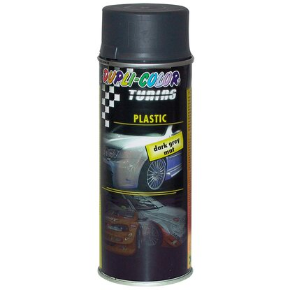 Dupli-Color Lackspray Tuning Plastic Schwarz matt 400 ml