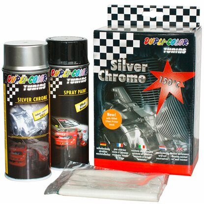 Dupli-Color Silver Chrome Set-Auto