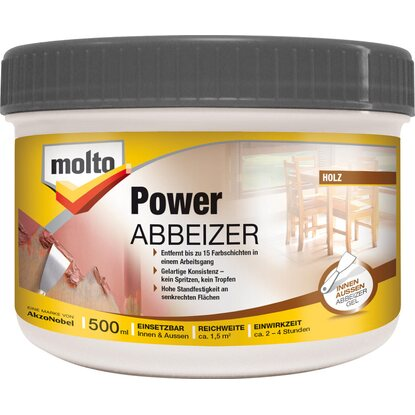 Molto Power Abbeizer Kraftlöser Gel 500 ml