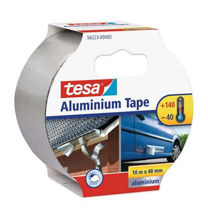 tesa Aluminium Tape 10 m x 50 mm