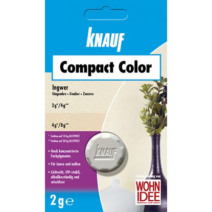Knauf Compact Color Ingwer 2 g