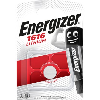 Energizer Knopfzelle CR 1616 Lithium 3 V