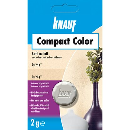 Knauf Compact Color Cafe au lait 2 g