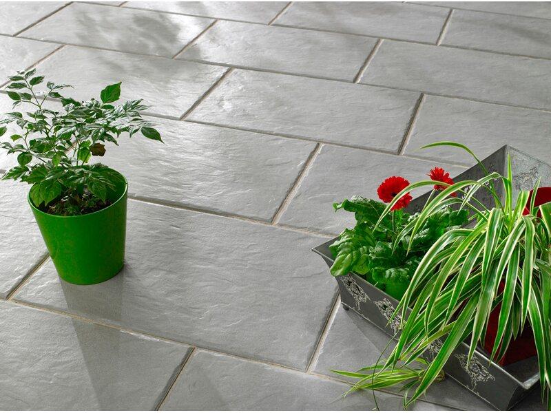 Terrassenplatten Gehwegplatten Kaufen Bei OBI OBIch - Gartenplatten in holzoptik