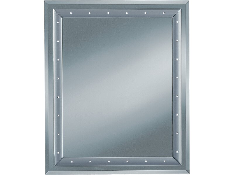 facettenspiegel mit kunststoffrahmenprofil silberfarben kaufen bei obi. Black Bedroom Furniture Sets. Home Design Ideas